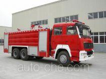 川消牌SXF5320GXFPM170ZZ型泡沫消防车