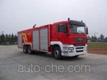 川消牌SXF5330GXFPM160M型泡沫消防车
