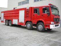 川消牌SXF5380GXFPM210HW型泡沫消防车