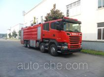 Chuanxiao SXF5400GXFPM200/S foam fire engine
