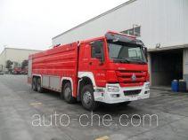 川消牌SXF5430GXFPM250型泡沫消防车