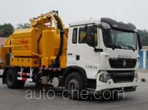 Huifeng Antuo SXH5161GQWD2 sewer flusher and suction truck