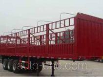 卓里-克劳耐牌SXL9381CCY型仓栅式运输半挂车