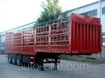 卓里-克劳耐牌SXL9382CCY型仓栅式运输半挂车
