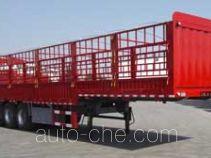 卓里-克劳耐牌SXL9407CCY型仓栅式运输半挂车