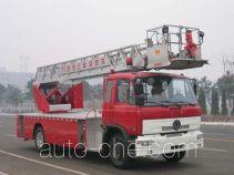 金猴牌SXT5110JXFYT20型云梯消防车