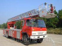 金猴牌SXT5141JXFYT25型云梯消防车