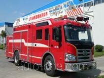 Jinhou SXT5190JXFJP19 high lift pump fire engine