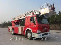 金猴牌SXT5190JXFYT30型云梯消防车