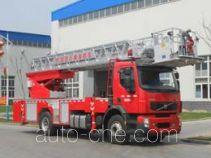 金猴牌SXT5190JXFYT32型云梯消防车