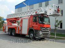 Jinhou SXT5241JXFYT40 aerial ladder fire truck