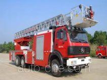 Jinhou SXT5251JXFYT40 aerial ladder fire truck