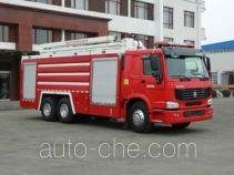 金猴牌SXT5303JXFJP16型举高喷射消防车