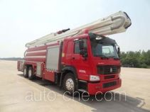 Jinhou SXT5304JXFJP32 high lift pump fire engine