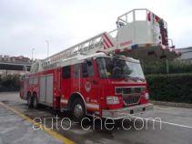 金猴牌SXT5330JXFYT30型云梯消防车
