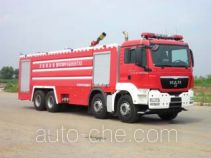 Jinhou SXT5390GXFPM210 foam fire engine