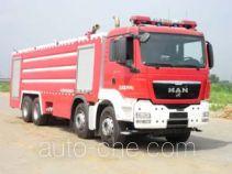 金猴牌SXT5390GXFSG210型水罐消防车