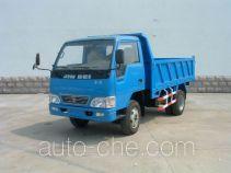 金杯牌SY4015D2型自卸低速货车