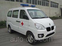 金杯牌SY5020XJH-A9SBW型救护车