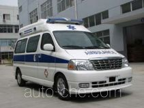 Jinbei SY5031XJHJ-MSBG monitoring-type ambulance