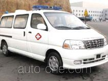 Jinbei SY5031XJHL-MSBG ambulance