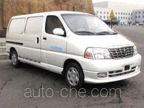 Jinbei SY5031XXYL-G2SBG box van truck