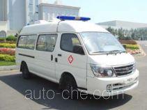 金杯牌SY5033XJHL-MSBH型救护车