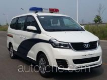 Huasong SY5033XQC-S1Z1BG prisoner transport vehicle