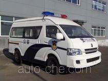 Jinbei SY5038XQC-G9S1BH prisoner transport vehicle