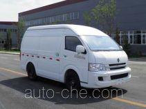 Jinbei SY5038XXY-MSBH box van truck