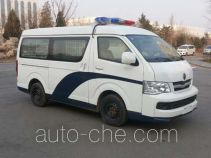 Jinbei SY5039XQC-D4S1BH prisoner transport vehicle