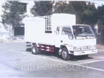 Jinbei SY5044CXYB4-V грузовик с решетчатым тент-каркасом
