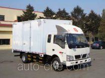 金杯牌SY5084XXYBVQ-ZB型厢式运输车
