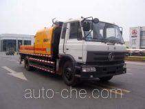 三一牌SY5121THB型车载式混凝土泵车