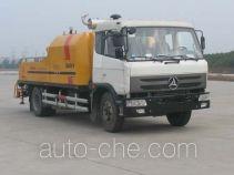 三一牌SY5122THB90型车载式混凝土泵车