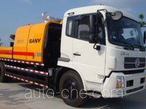 三一牌SY5125THB型车载式混凝土泵车