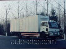 银宝牌SYB5101XXY型厢式运输车