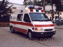 鲁威牌SYJ5030XJH型救护车