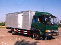 鲁威牌SYJ5070XXY型厢式运输车