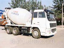 鲁威牌SYJ5250GJBYC型混凝土搅拌运输车
