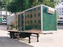 鲁威牌SYJ9190XXY型厢式运输半挂车