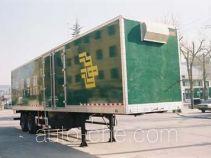 鲁威牌SYJ9190XYZ型厢式邮政半挂车