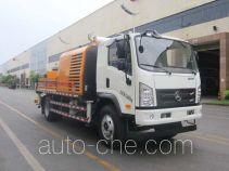 三一牌SYM5123THBD型车载式混凝土泵车