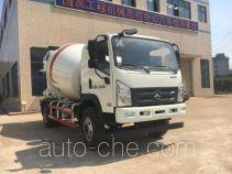 三一牌SYM5160GJB1E型混凝土搅拌运输车