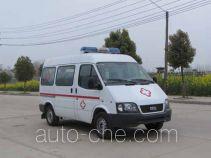 炎帝牌SZD5037XJHJQ型救护车