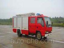 鸡球牌SZX5050TXFBP20型泵浦消防车