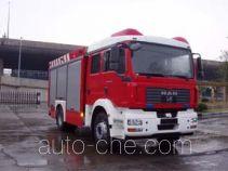 Jiqiu SZX5130GXFAP24 class A foam fire engine