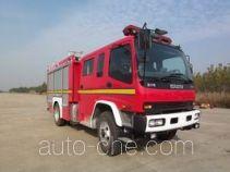 Jiqiu SZX5130GXFAP24W class A foam fire engine