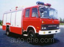 鸡球牌SZX5140GXFPM55型泡沫消防车