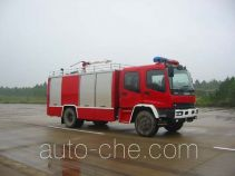 鸡球牌SZX5150GXFPM55型泡沫消防车